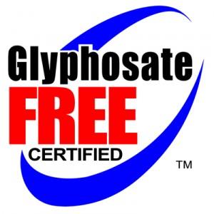 Glyphosate Free Certified