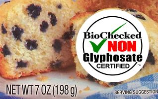 BioChecked Non Glyphosate Certified™